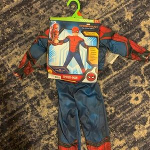 Spider Man Costume with Mask